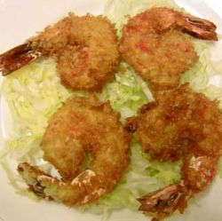 Dragon tails-deep fried shrimps